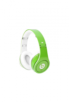 Beats By Dr Dre High Definition Studio Over-Ear Green Headphones