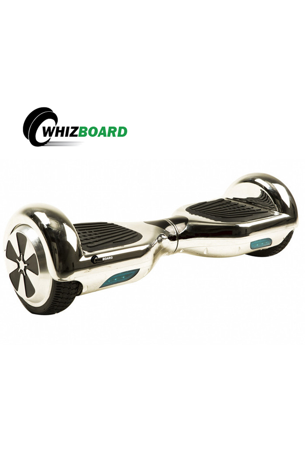 LIMITED CHROME EDITION WHIZ BOARD SELF BALANCING SCOOTERS SILVER