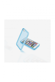 Cellular Line Hard Case Clear Blue Iphone 6