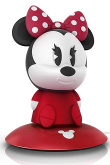 Philips Disney Minnie Mouse SoftPal Guided Night Light and Table Lamp - 1 x 1 W Integrated LED