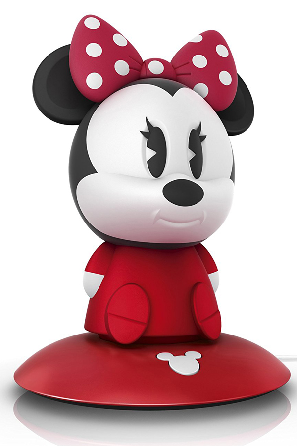 Philips Disney Minnie Mouse SoftPal Guided Night Light and Table Lamp – 1 x 1 W Integrated LED