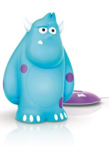 Philips Disney Sulley SoftPal Guided Night Light and Table Lamp - 1 x 1 W Integrated LED