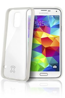 XtremeMac Microshield Accent case for Samsung Galaxy S5 (SGS-MA5-03 Clear)
