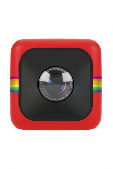 """Polaroid Cube Lifestyle Action Camera (Red) """