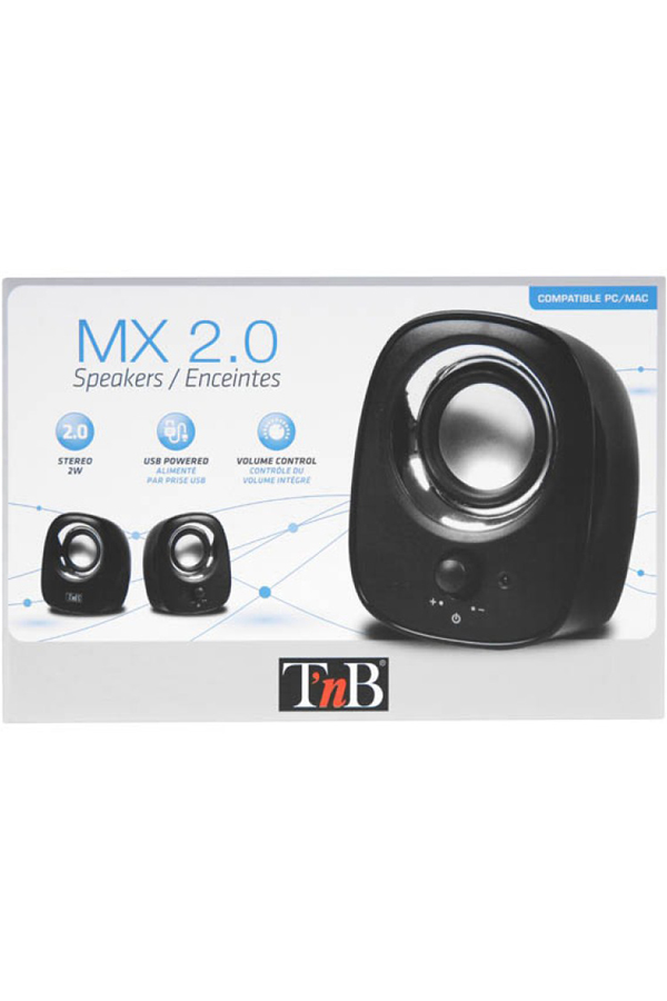 BLACK MX SERIES SPEAKER 2.0