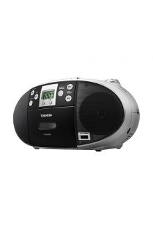 Toshiba Portable CD/USB Radio Cassette Player/Recorder