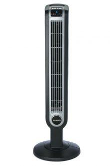 Lasko 2505 36-Inch Remote Control Tower Fan with Ionizer, Black