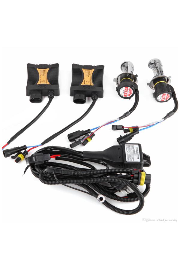 55W HID Xenon Headlight Conversion KIT Led Bulbs H1 H4 H7 H10/9005 9006 4300k 6000k