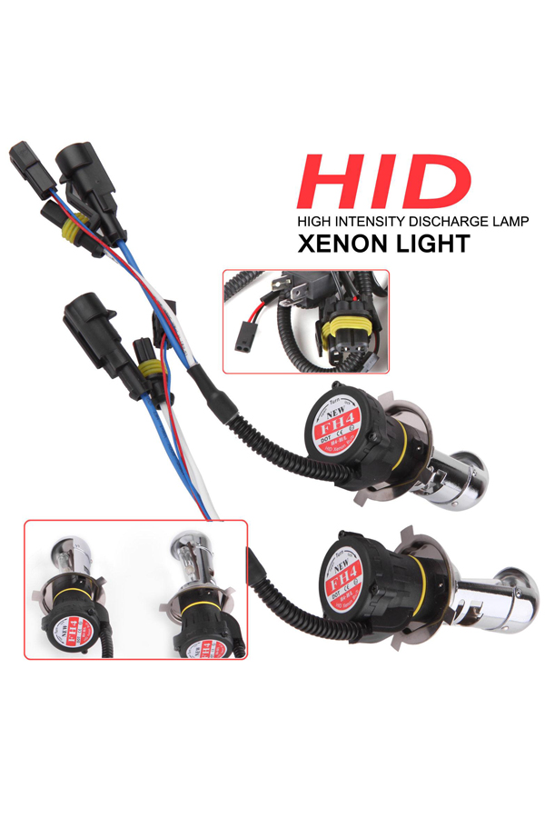 55W HID Xenon Headlight Conversion KIT Led Bulbs H1 H4 H7 H10/9005 9006 4300k 6000k