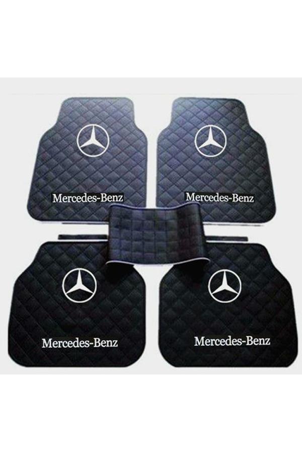 """"""" 2-Pcs-Latex-Rubber-Auto-Car-Floor-Mats-Mercedes Benz"""""""