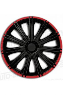 Set wheel covers Nero R 14-inch black/red