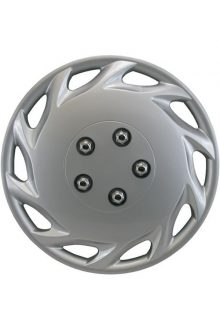 "14"" Silver Sport Wheel Cover 4 pk"