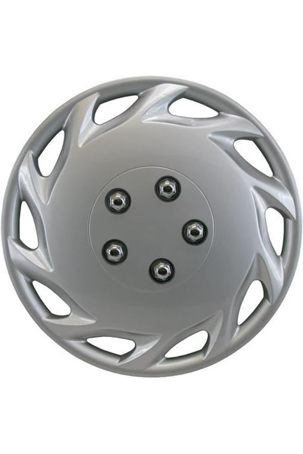 14″ Silver Sport Wheel Cover 4 pk